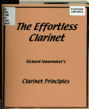 The Effortless Clarinet