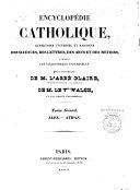 Encyclopédie catholique...