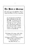 The Battle of Santiago on Board the U S  Battleship  Texas