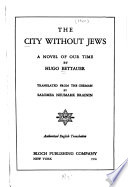 The City Without Jews