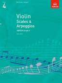Violin Scales & Arpeggios Grade 4