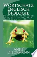 Wortschatz Englisch Biologie