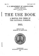Use Book  a Manual for Users of the National Forests