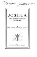 Pdf Joshua, the Warrior Prince of Israel