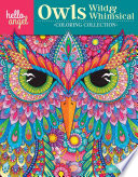 Hello Angel Owls Wild & Whimsical Coloring Collection