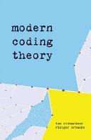 Modern Coding Theory