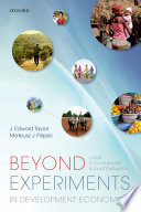 Beyond Experiments in Development Economics Book