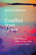 Conflict Is Not Abuse Pdf/ePub eBook