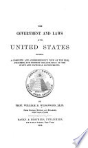 Government and Laws of the United States