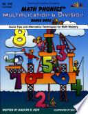 Math Phonics Multiplication Division Enhanced Ebook