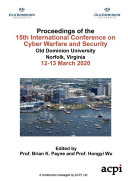 ICCWS 2020 15th International Conference on Cyber Warfare and Security Pdf/ePub eBook