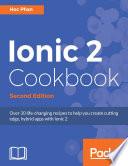 Ionic 2 Cookbook