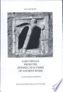 Read Online Sarcophagi from the Jewish Catacombs of Ancient Rome For Free
