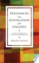 Deficiencies in the Justification of the Ungodly Book
