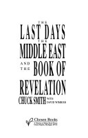 The Last Days, the Middle East, and the Book of Revelation