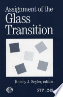 Assignment of the Glass Transition
