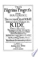 Two Pilgrims  Progress Book