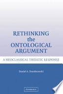 Rethinking the Ontological Argument
