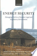 Energy Security Book