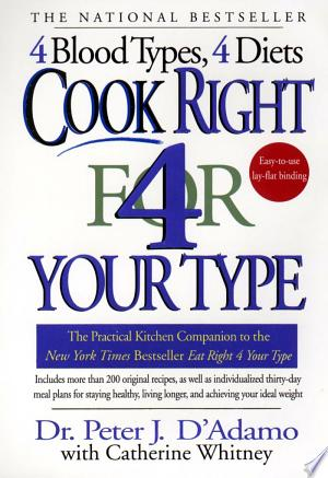 Download Cook Right 4 Your Type Free Books - Dlebooks.net