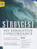 The Strongest NIV Exhaustive Concordance Book