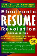 Electronic resume revolution