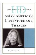 Pdf Historical Dictionary of Asian American Literature and Theater