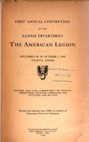 Annual Convention of the Kansas Department of the American Legion