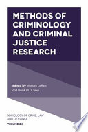 Methods Of Criminology And Criminal Justice Research