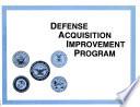 Defense Acquisition Improvement Program