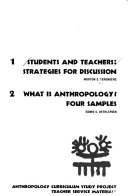 Students and Teachers: Strategies for Discussion