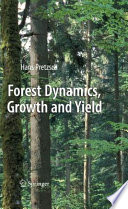 Forest Dynamics Growth And Yield