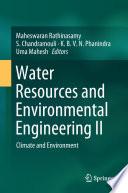 Water Resources and Environmental Engineering II