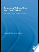 Balancing Written History with Oral Traditions
