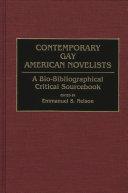 Contemporary Gay American Novelists