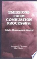 Emissions From Combustion Processes   An ACS Environmental Chemistry Division Book Book