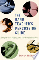 The Band Teacher s Percussion Guide Book PDF