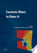 Constitutive Models for Rubber VI Book