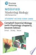 Campbell Essential Biology (with Physiology Chapters) Modified Mastering Biology with Pearson EText Access Card