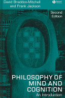 Cover of Philosophy of Mind and Cognition