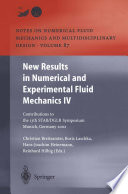 New Results in Numerical and Experimental Fluid Mechanics IV