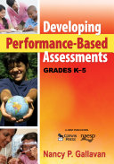 Developing Performance Based Assessments  Grades K 5