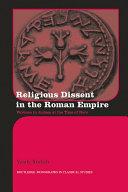 Religious Dissent in the Roman Empire [Pdf/ePub] eBook