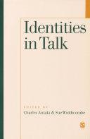 Identities in Talk Pdf/ePub eBook