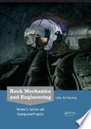 Rock Mechanics and Engineering Volume 5