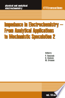 Impedance In Electrochemistry From Analytical Applications To Mechanistic Speculation 2 Book PDF