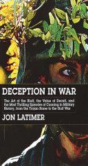 Pdf Deception in War