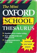 The Mini Oxford School Thesaurus