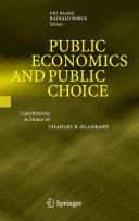Public Economics and Public Choice [Pdf/ePub] eBook