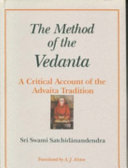 The Method of the Vedanta